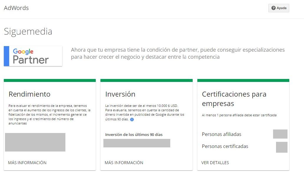 siguemedia partners google
