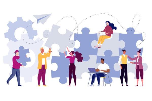 ¿Cuáles son los actores de las campañas de marketing de afiliados?